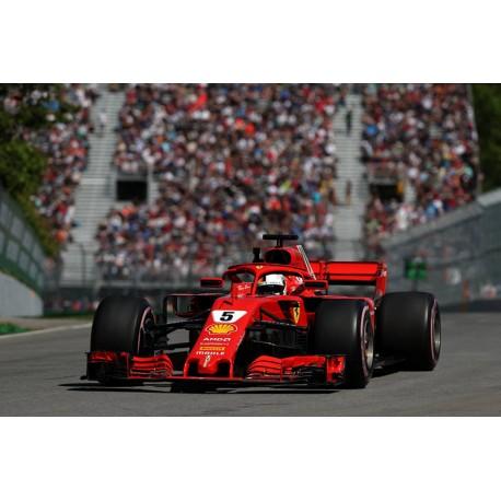 Ferrari SF71H F1 Canada 2018 50th Victory Sebastian Vettel Looksmart LS18F1015