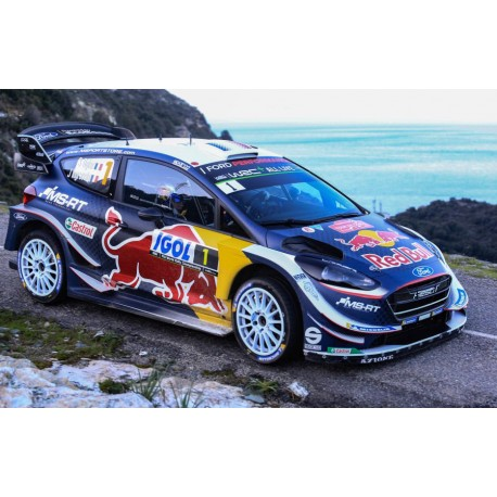 ford fiesta wrc 1 winner tour de corse 2018 ogier ingrassia spark s5970 miniatures minichamps. Black Bedroom Furniture Sets. Home Design Ideas