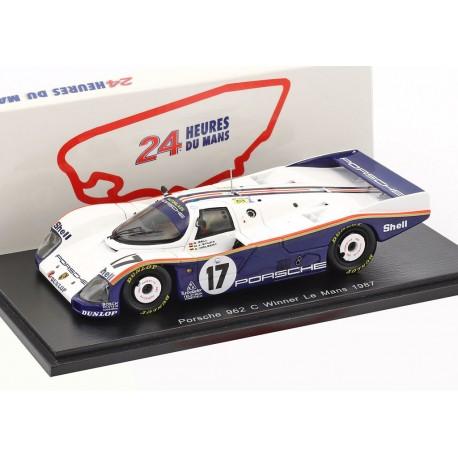 Porsche 962C 17 Winner 24 Heures du Mans 1987 Spark S43LM87