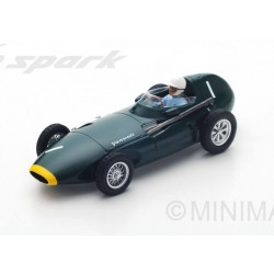 Vanwall VW5 F1 Pays-Bas 1958 Stirling Moss Spark S4870