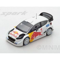 Ford Fiesta WRC Rallye Test car 2018 Ogier Ingrassia Spark S5172