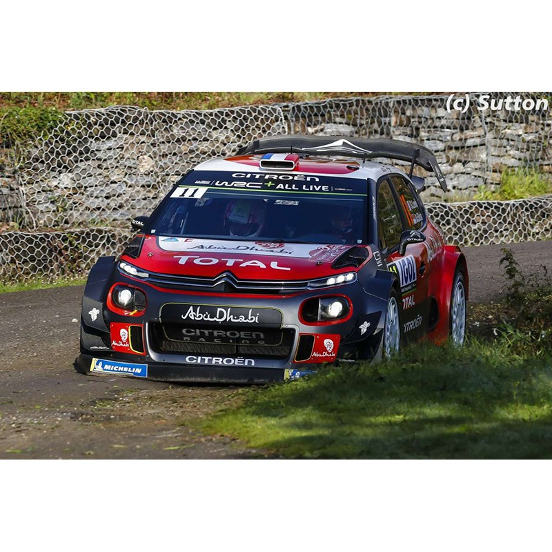 citroen c3 wrc 11 tour de corse 2018 loeb elena spark s5969 miniatures minichamps. Black Bedroom Furniture Sets. Home Design Ideas