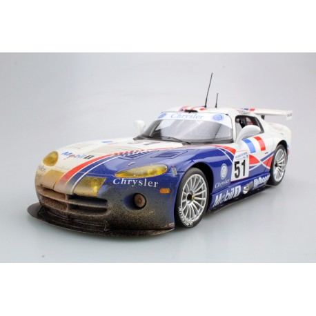 Viper GTS-R Oreca Dirty version 51 Winner GTS Class 24 Heures du Mans 1999 Top Marques TOP42AD