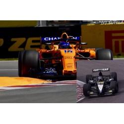 2 car set Minardi PS01 2001 McLaren Renault MCL33 Canada 2018 Fernando Alonso Minichamps 412180114