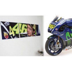 Promo Pack Valentino Rossi 2016 Yamaha Triptyque