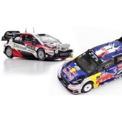 Promo Pack Rallye WRC 2017 Ford Ogier Toyota Latvala