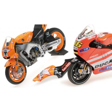 Promo Pack Valentino Rossi Andrea Dovizioso Moto GP 2011