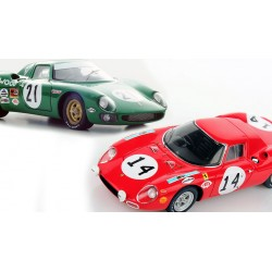 Promo Pack Ferrari 250LM 24 Heures du Mans 1968