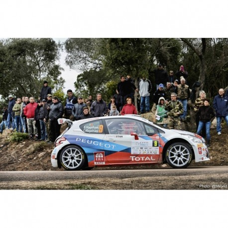Peugeot 208 T16 R5 9 Tour de Corse 2014 Magalhaes Magalhaes IXO RAM600