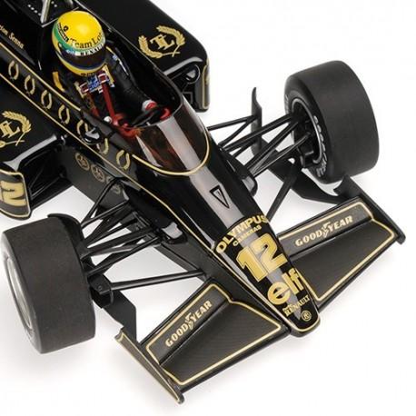 Lotus Renault 97T 1985 Ayrton Senna Minichamps 540851812