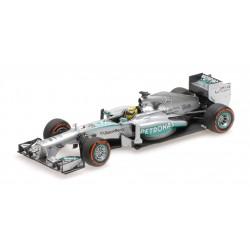Mercedes F1 W04 F1 USA 2013 Nico Rosberg Minichamps 410130209