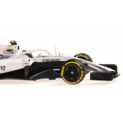 Williams Martini Racing Mercedes F1 Showcar 2018 Sergey Sirotkin Minichamps 417189035
