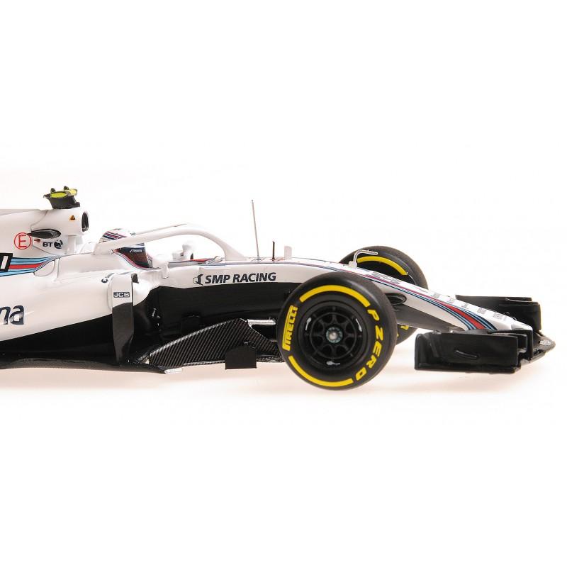 Williams Martini Racing Mercedes F1 Showcar 2018 Sergey ...