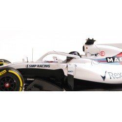Williams Martini Racing Mercedes F1 Showcar 2018 Lance Stroll Minichamps 417189018