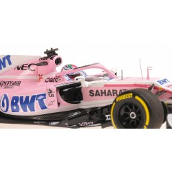 Sahara Force India F1 Team F1 Showcar 2018 Sergio Perez Minichamps 417189011