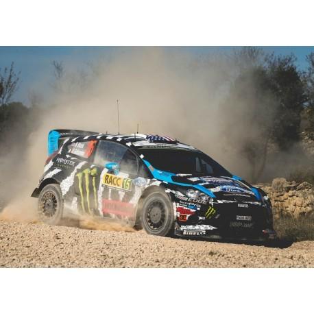 Ford Fiesta RS WRC 15 Rallye de Catalunya 2014 Block Gelsomino IXO RAM601