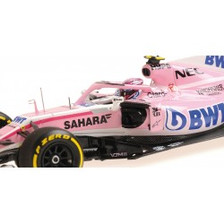 Sahara Force India F1 Team F1 Showcar 2018 Esteban Ocon Minichamps 417189031