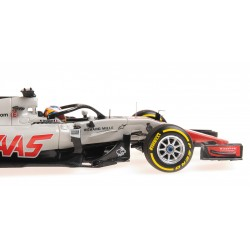 Haas F1 Team F1 Showcar 2018 Romain Grosjean Minichamps 417189008