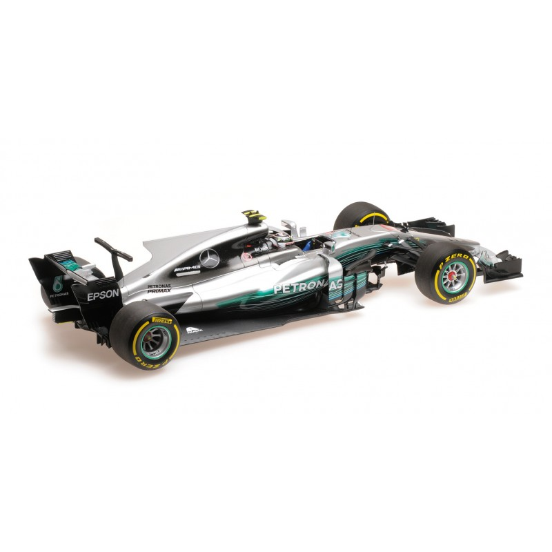 mercedes amg petronas w08 eq power f1 chine 2017 valtteri bottas minichamps 117170277. Black Bedroom Furniture Sets. Home Design Ideas