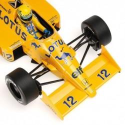 Lotus Honda 99T 1987 Ayrton Senna Minichamps 540871812