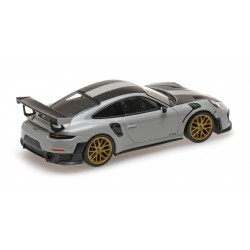 Porsche 911 Type 991/2 GT2 RS 2018 Kreide Pack Weissach Minichamps 410067220