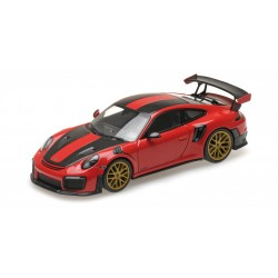 Porsche 911 Type 991/2 GT2 RS 2018 Red Pack Weissach Minichamps 410067221