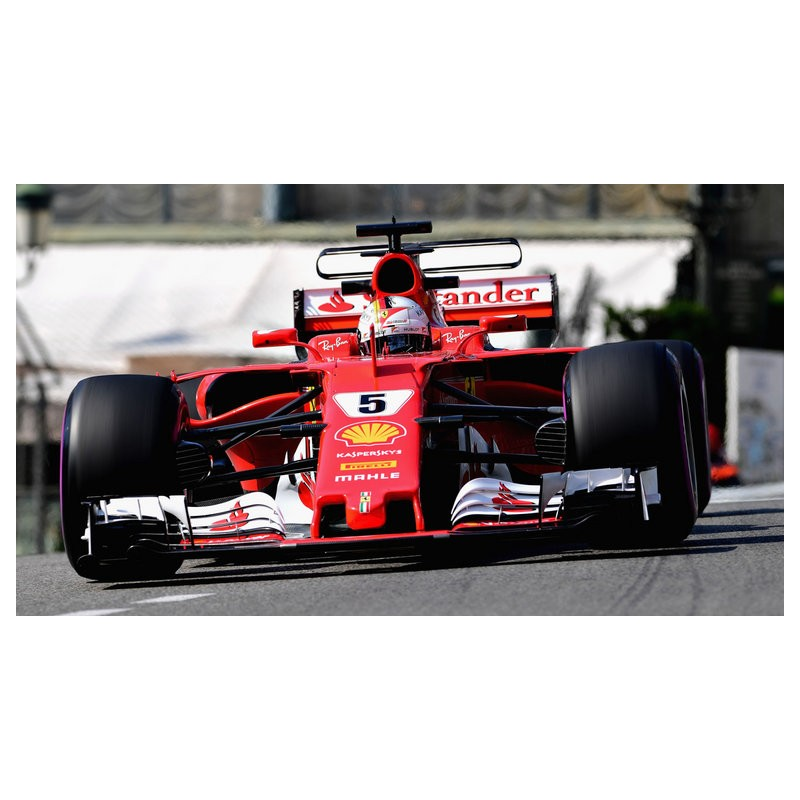 ferrari sf70h f1 monaco 2017 sebastian vettel minichamps bbr181715 miniatures minichamps. Black Bedroom Furniture Sets. Home Design Ideas