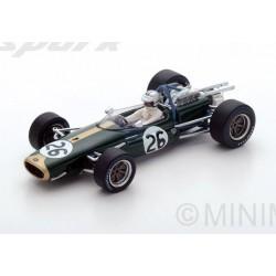 Brabham BT19 26 F1 Belgique 1967 Denny Hulme Spark S5254