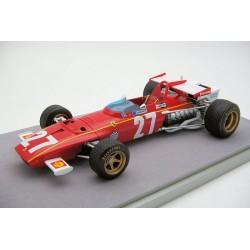 Ferrari 312B 27 F1 Belgique 1970 Jacky Ickx Tecnomodel TM1864C