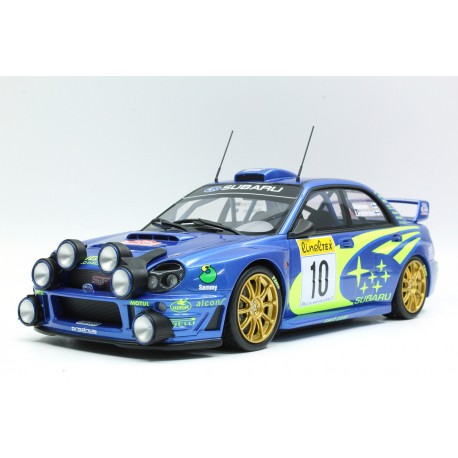 Subaru Impreza S7 555 WRT 10 Winner Rallye Monte Carlo 2002 Makinen Lindstrom Top Marques TOP37C
