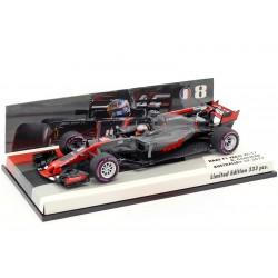 Haas Ferrari VF17 F1 Australie 2017 Romain Grosjean Minichamps 447170108
