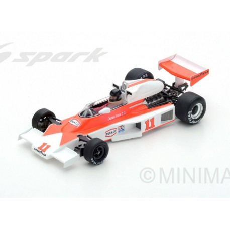 McLaren M23 F1 France 1976 Winner James Hunt Spark S4362