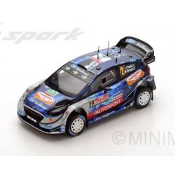 Ford Fiesta WRC 2 Rallye de Grande Bretagne 2017 Tanak Jarveoja Spark S5173