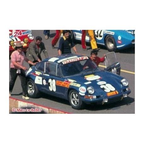 Porsche 911 EC 38 24 Heures du Mans 1971 Spark S0884