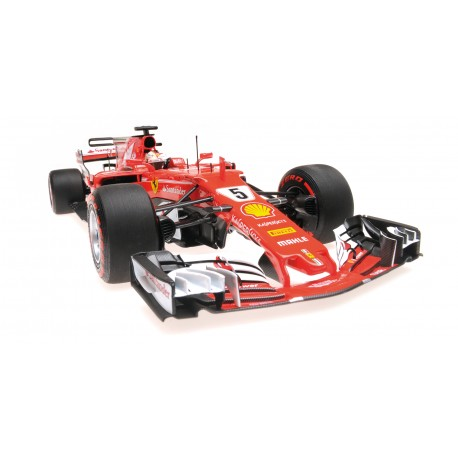 Ferrari SF70H F1 Monaco 2017 Sebastian Vettel Minichamps BBR181715