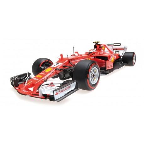 Ferrari SF70H F1 Monaco 2017 Kimi Raikkonen Minichamps BBR181717