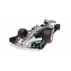 Mercedes AMG Petronas W08 EQ Power+ F1 Russie 2017 Lewis Hamilton Minichamps 117170444