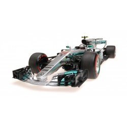 Mercedes AMG Petronas W08 EQ Power+ F1 Russie 2017 Valtteri Bottas Minichamps 117170477