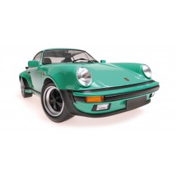 Porsche 911 Turbo 1977 Green Minichamps 125066118