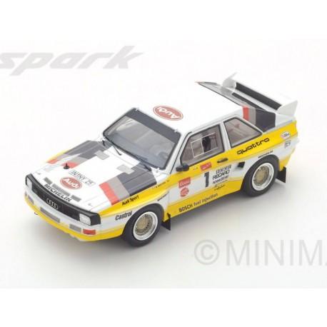 Audi Quattro 1 Winner Pikes Peak 1985 Michèle Mouton Spark S43PP85