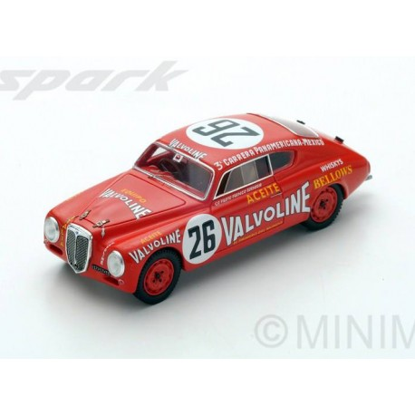 Lancia B20 26 Carrera Panamerica 1952 Maglioli Bomigia Spark S2442