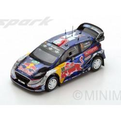 Ford Fiesta WRC 1 Rallye de Grande Bretagne 2017 Ogier Ingrassia Spark S5175