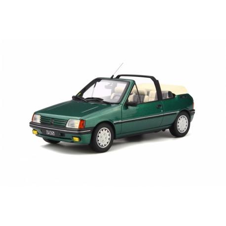 Peugeot 205 Cabriolet Roland Garros Green Metallic 1989 Ottomobile OT733