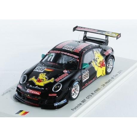 Porsche 997 GT3 R 888 24 Heures de Spa 2011 Spark SB025
