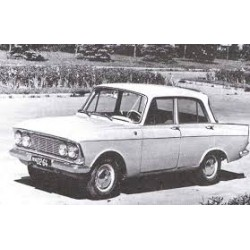 Moskwitsch 408 Light Grey 1964 IXO PCL47086