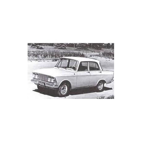 Moskwitsch 408 Light Grey 1964 IXO PCL47086