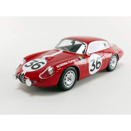 Alfa Romeo Giulietta SZ Coda Tronca 36 24 Heures du Mans 1963 Tecnomodel TM1871D