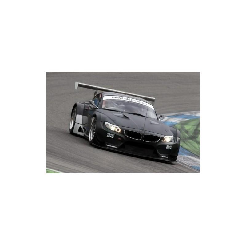 Bmwplain: BMW Z4 GT3 Plain Body Satin Black Minichamps 437172500