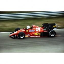 Ferrari 126 C3 F1 Pays-Bas 1983 René Arnoux Looksmart LSF1H04