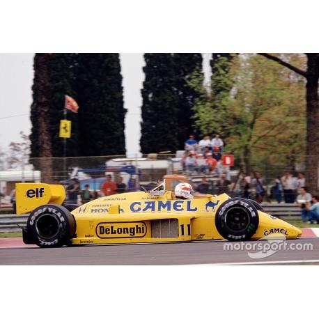 Lotus Honda 99T F1 Monaco 1987 Satoru Nakajima Minichamps 110870091